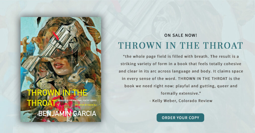 Click here to order your copy of Thrown in the Throat